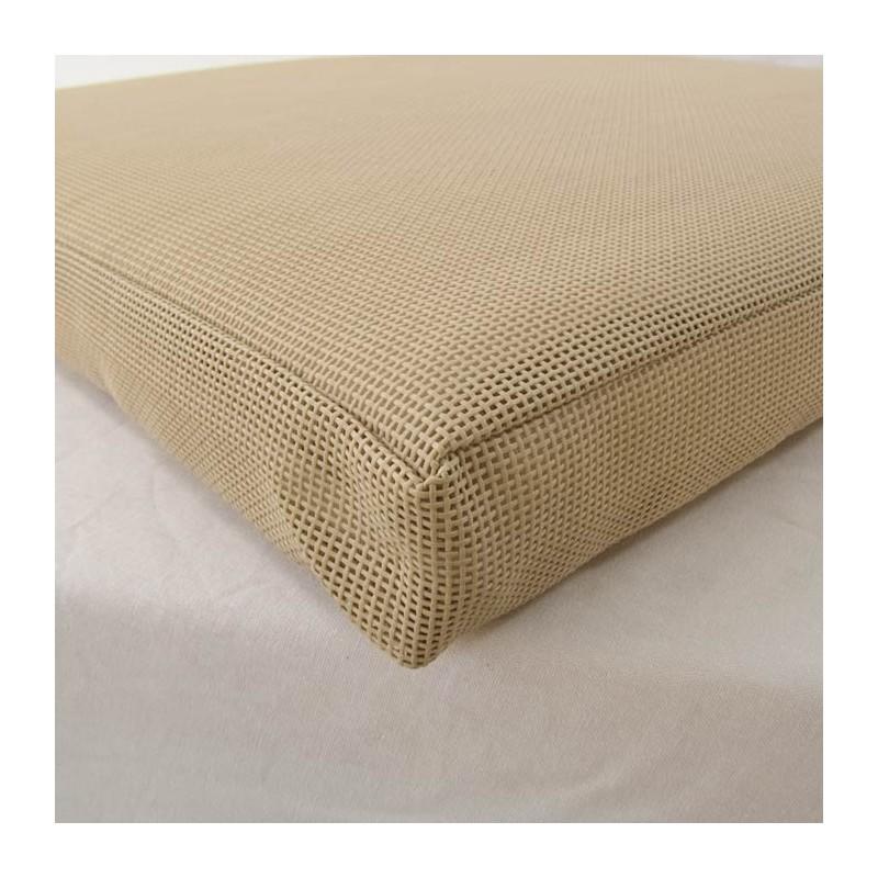Cojin para tumbona de piscina textilene arena pack 2 unidades - Cojines para muebles de jardin ...