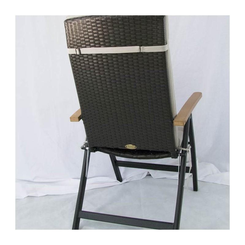 Coj n posiciones de jard n est ndar beige tienda ed n for Cojin para muebles de jardin en palet