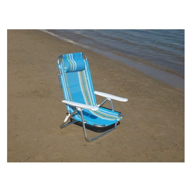 Sillas para playa azul cielo azul mar y playa silla de for Piscinas alcampo online