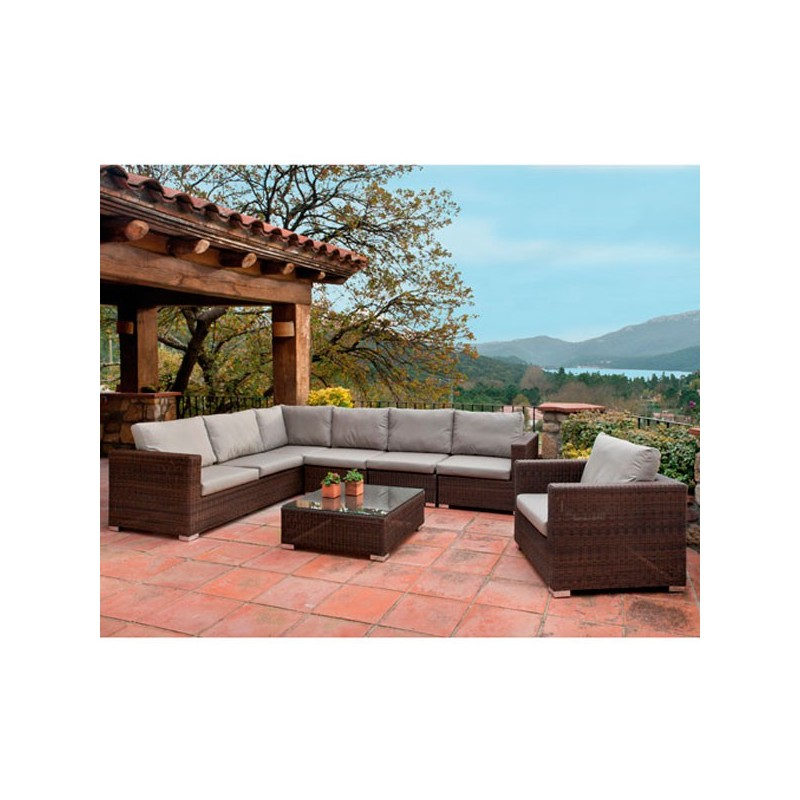 Venta online de mobiliario de exterior outlet en muebles for Muebles de jardin para exterior
