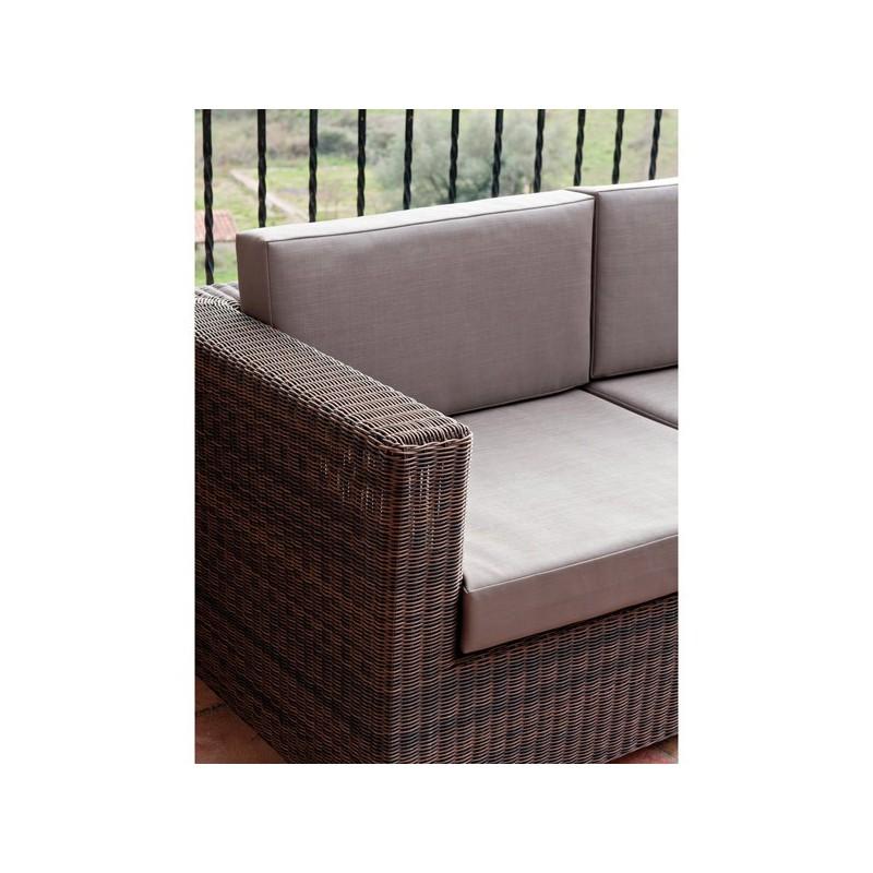 Conjunto de sofas de exterior venta online de mobiliario for Conjunto exterior jardin