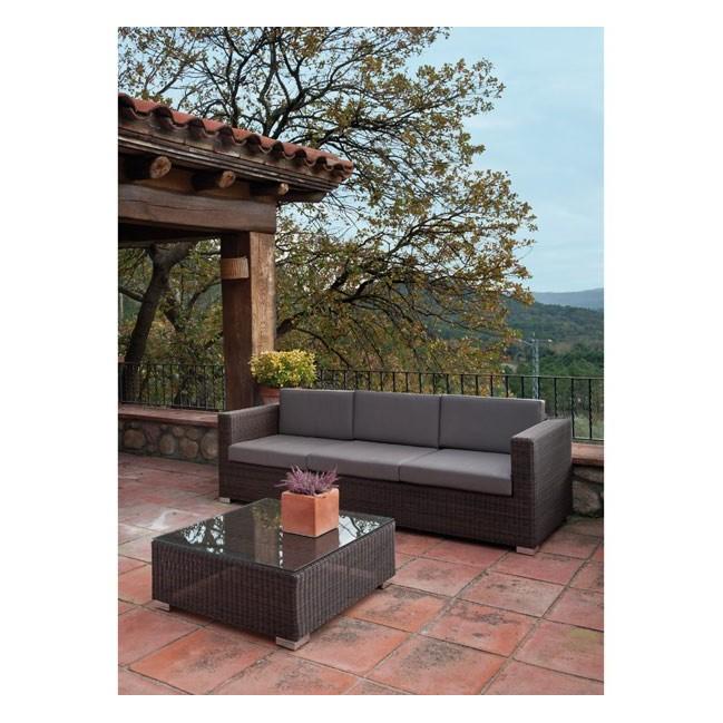 Mobiliario de jardin ofertas catlogo de ofertas leroy for Sofa exterior leroy