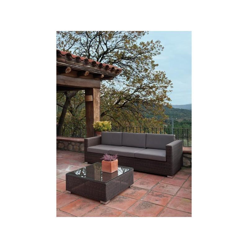 Conjunto de sofas de exterior venta online de mobiliario for Sofas para porches