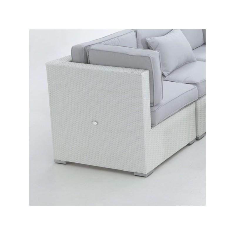 Conjunto para jardin. Sofa modular fibra San Luis