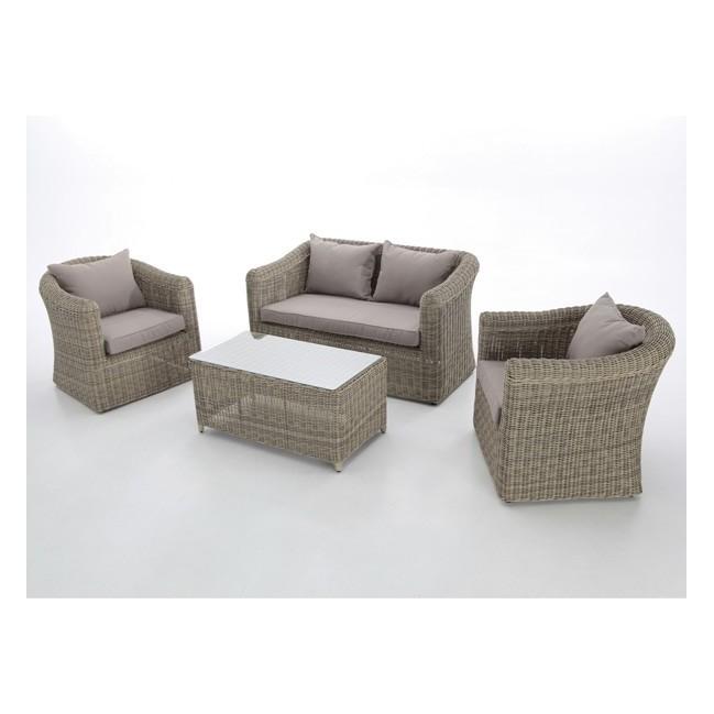 Conjunto sofas de exterior fibra haya tulsa for Conjunto sofa exterior