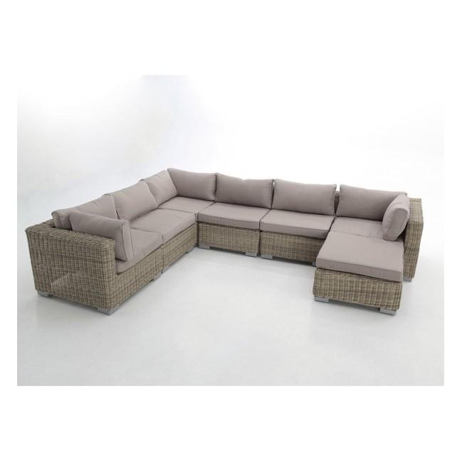Conjunto sofas modular jardin fibra haya tulsa for Sofa modular jardin