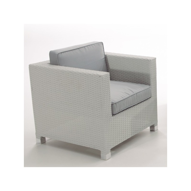 Conjunto de exterior sofas fibra blanco san luis for Conjunto sofa exterior