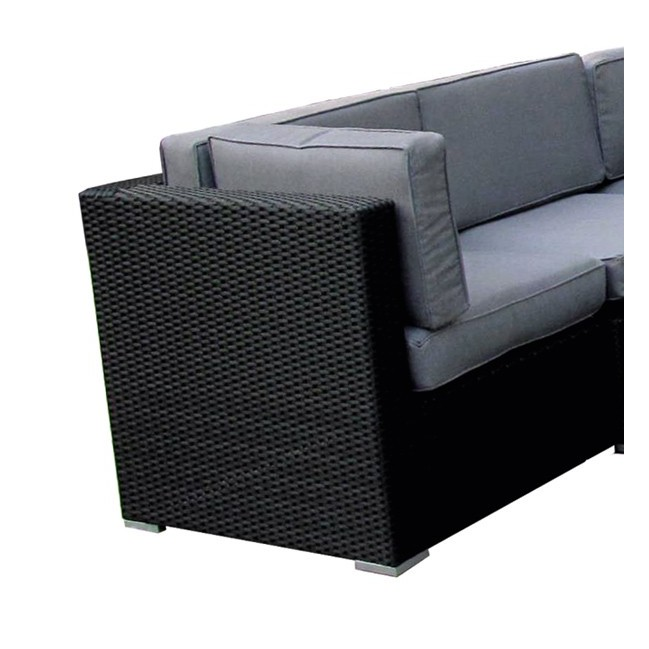 Rinconera de exterior fibra tampa for Rattan sintetico muebles jardin