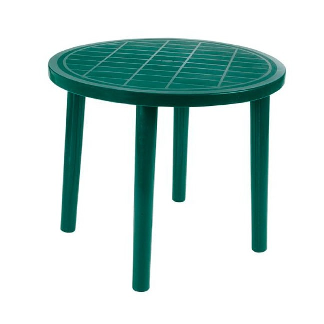 Mesa de aluminio de exterior outlet en mobiliario de for Ofertas mobiliario jardin