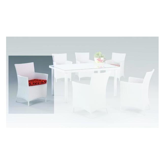Mesa de alumio de exterior oferta de mobiliario de for Sillon comedor