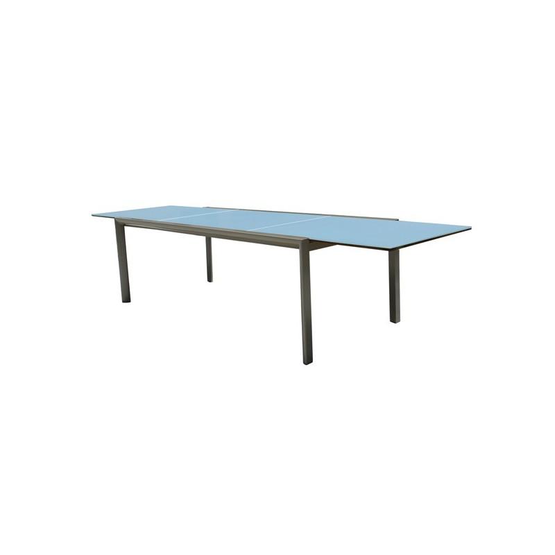 mesa de terraza y cristal extensible themis