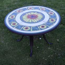 Mesa mosaico Bloom 120