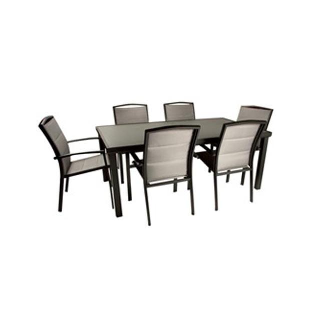 Mesa de jardin online outlet en mesas de fibra ofertas en mobiliario de jardin y terraza - Mobiliario jardin online ...