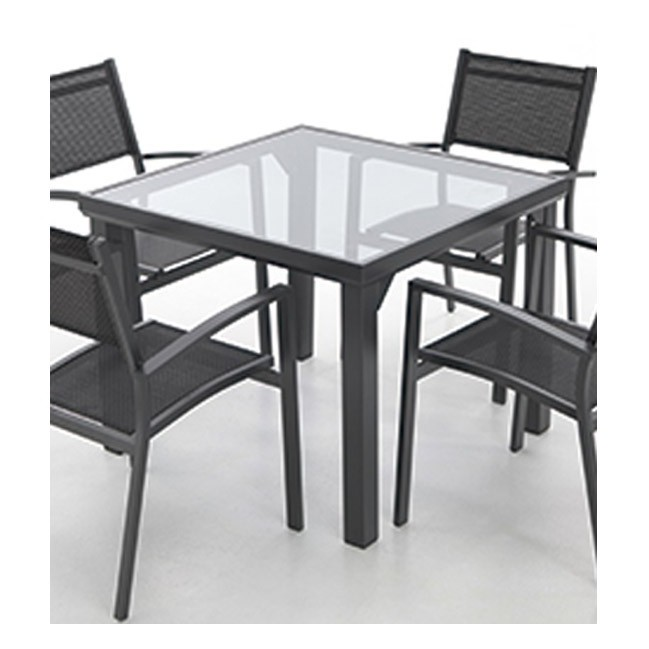Mesa aluminio providence for Muebles jardin aluminio