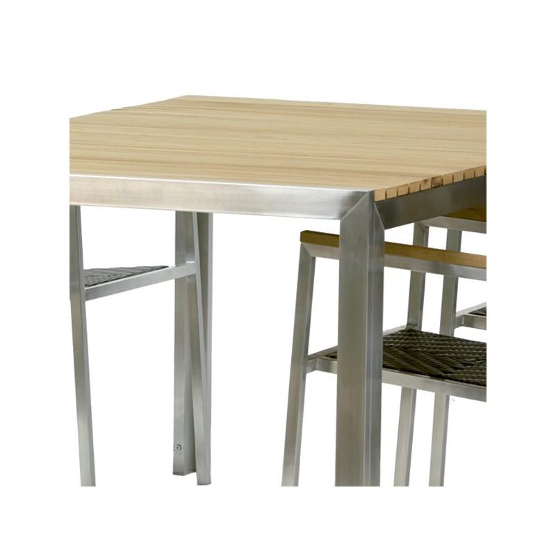 Muebles teka jardin conjunto mesa y sillones para jardin for Mesas jardin baratas