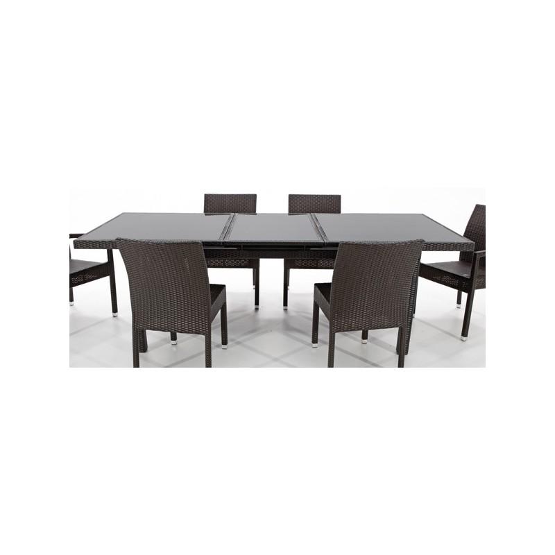 Mesa en aluminio de exterior online oferta de mesas de Sillones online