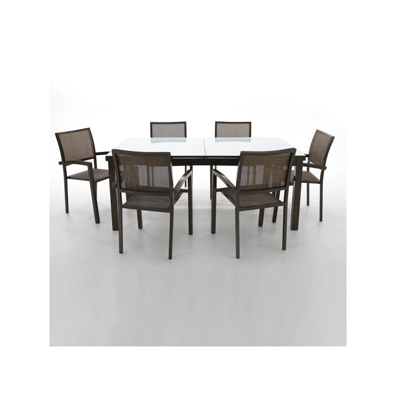 Outlet en muebles de jardin online oferta en mobiliario for Conjunto mesa y sillas exterior