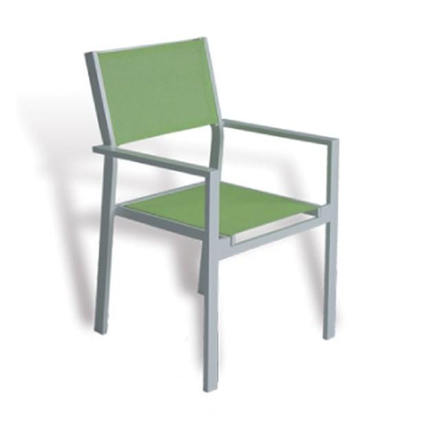 Sillon de exterior verde cheyenne for Outlet muebles jardin