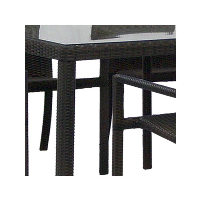Muebles de jardin ofertas best mesa con tapa de cristal y for Muebles de jardin baratos outlet