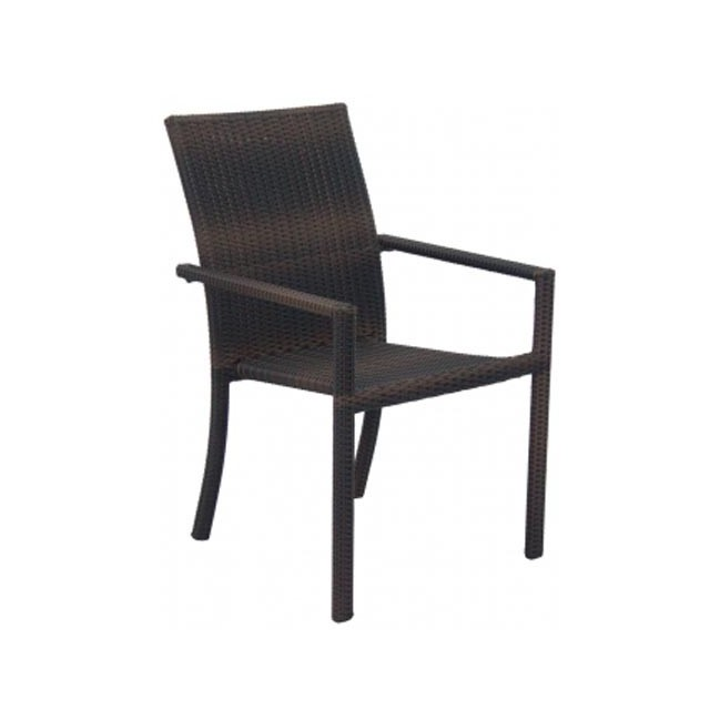 Sillon para terraza chocolate wichita for Outlet muebles jardin online