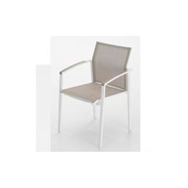 Sillon de exterior de aluminio nueva orleans for Outlet muebles exterior
