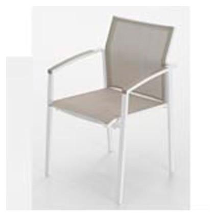 Sill n de exterior de aluminio nueva orleans for Muebles exterior outlet