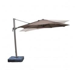 Parasol para jardín cuadrado Zipaq