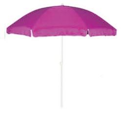 Parasol de playa redondo Annecy