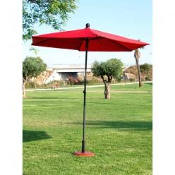 Parasol para terraza redondo