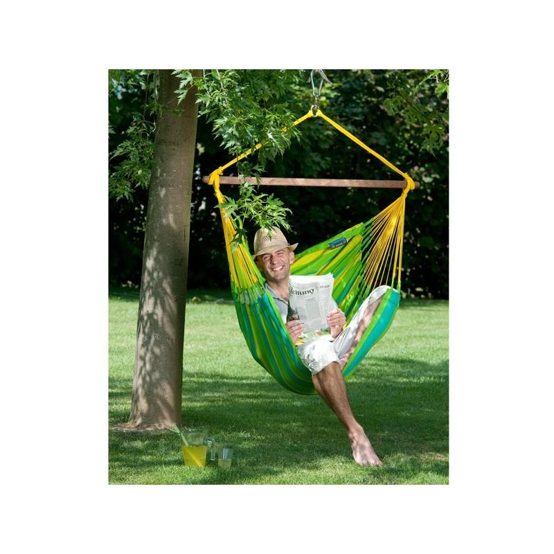 Hamaca silla para jardin sonrisa for Amazon hamacas jardin