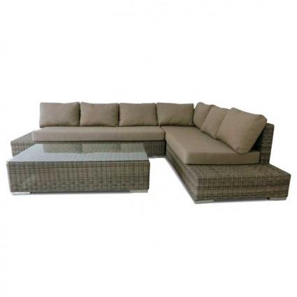 Conjunto sofás para jardin fibra Tucson