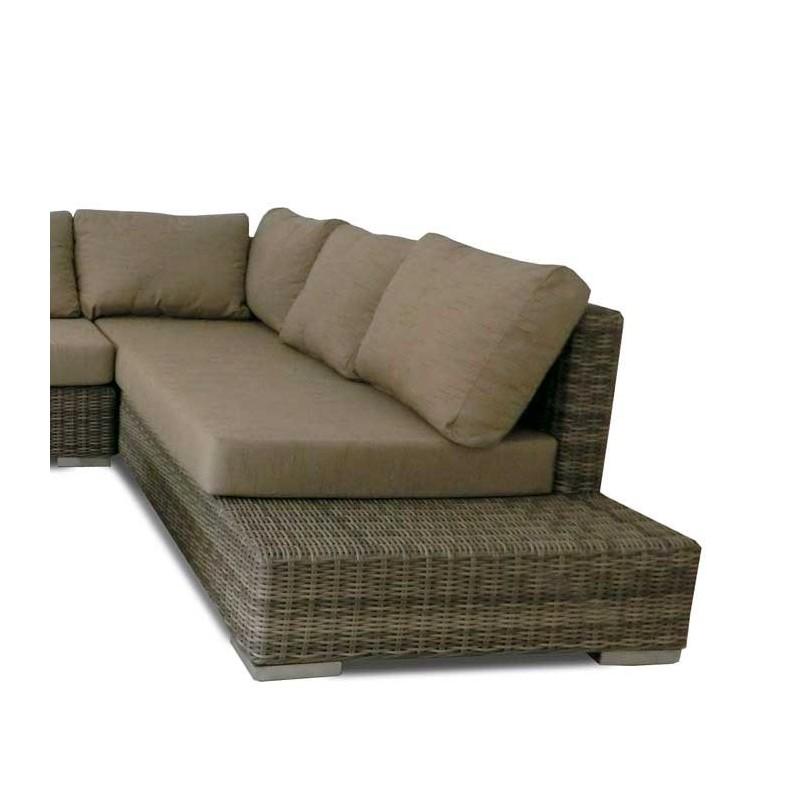 Conjunto sofas para jardin fibra tucson for Sofa jardin