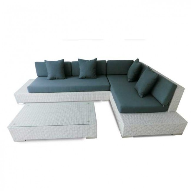 Conjunto sofas de jardin fibra nevada - Conjuntos muebles jardin ...