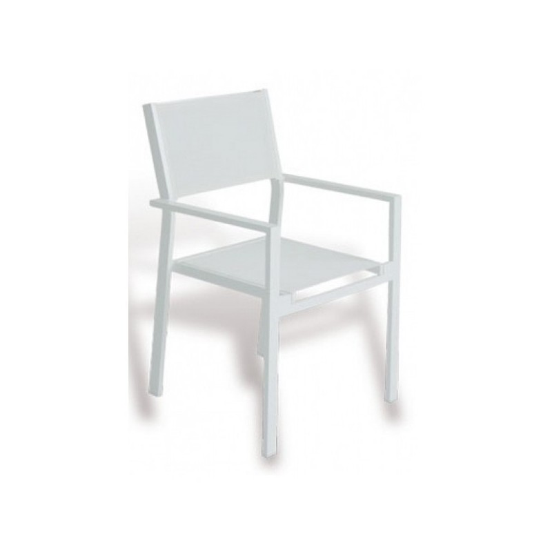 Sillon para jardin blanco cheyenne for Sillon blanco para dormitorio