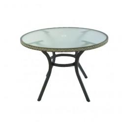 Mesa para exterior redonda Boden