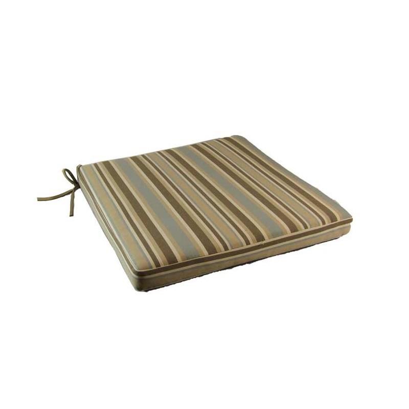 Coj n de jard n lux estampado rayas tienda ed n for Cojin para muebles de jardin en palet