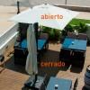 Parasol para jardín Roma Deluxe