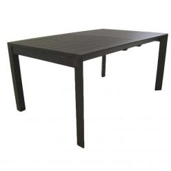 Mesa de jardín extensible Antracita 160-220