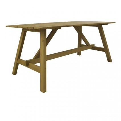 Mesa exterior madera teca 160 Teca Lux