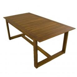 Mesa jardín de madera de teca 200
