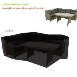Funda para conjuntos de sofás para jardín