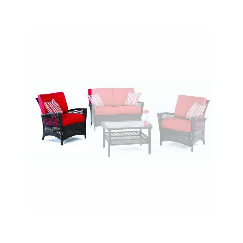 Tienda online de mobiliario de jardin outlet en muebles for Terraza rattan oferta