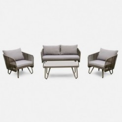 Conjunto sofás de jardín Pradesh