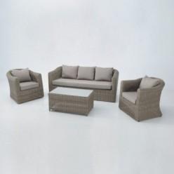 Conjunto sofás para exterior Molucas