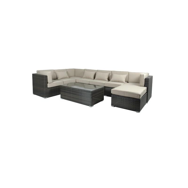 Conjunto sofas terraza fibra florida for Conjunto sofa terraza