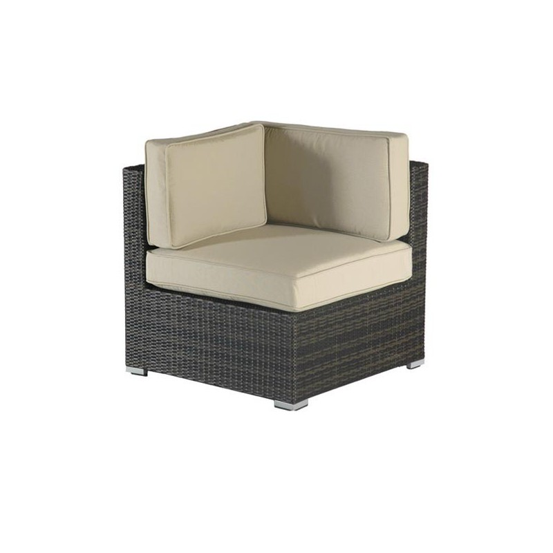 Sofa esquinero para jardin fibra florida for Sofa esquinero precio