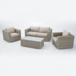 Conjunto sofás para jardín Kauai
