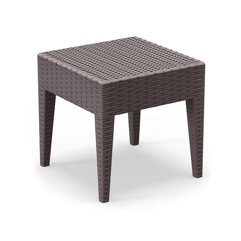 Mesa de alumio de exterior oferta de mobiliario de for Mesa exterior terraza