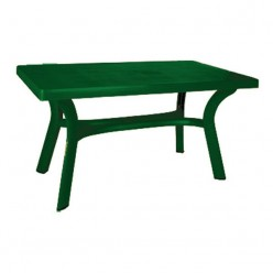 Mesa de jardín rectangular Filip 140
