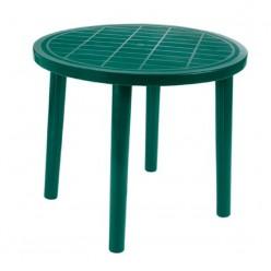 Mesa de jardín redonda Pack Ticca